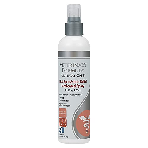 Veterinary Formula Clinical Care Hot Spot & Itch Relief Medicated Spray 8 oz
