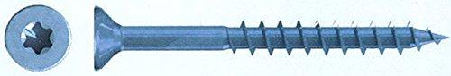JD-79–Tornillos Reisser Q200VI de Port Torx 5,0x 80rosca parcial cabeza avellanada Azul...