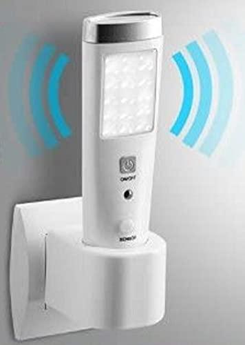 Detector de movimiento LED, linterna de bolsillo, luz nocturna, detector de presencia inalámbrico de pared portátil