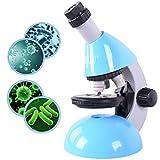 Microscopio para niños, ampliación 40X - 640X con 50 Kits de Ciencia El microscopio para...