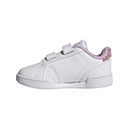 adidas ROGUERA I, Zapatillas Deportivas Unisex niños, FTWBLA/FTWBLA/LILCLA, 19 EU