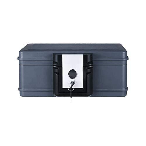 雑貨の国のアリス 手提げ金庫 防火 保管 小型 耐火 貴重品 コンパクト UL認証 鍵付き キーボックス キャッシュボックス [並行輸入品]