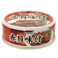 カンピー 赤貝味付 65g缶×24個入