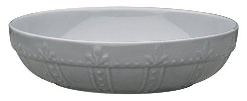 Signature Housewares Sorrento Collection - Juego de 4 cuencos para pasta, Gris Claro, 20.3 cm, 1