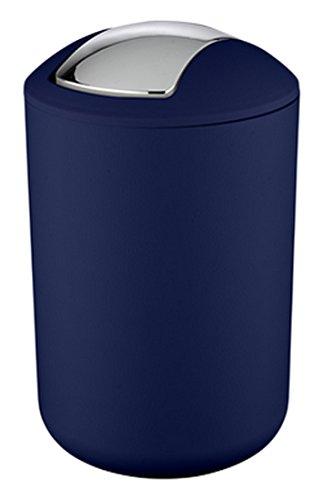 Wenko Papelera 22521100Brasil L en Azul Oscuro (19,5x 31cm)