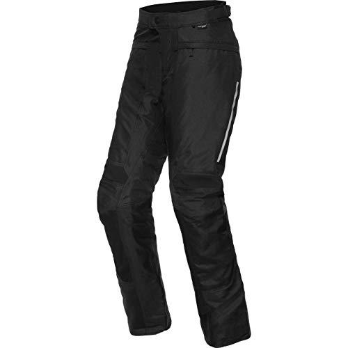 REV'IT! Motorradhose Factor 4 Textilhose schwarz S, Herren, Enduro/Reiseenduro, Ganzjährig, Polyester