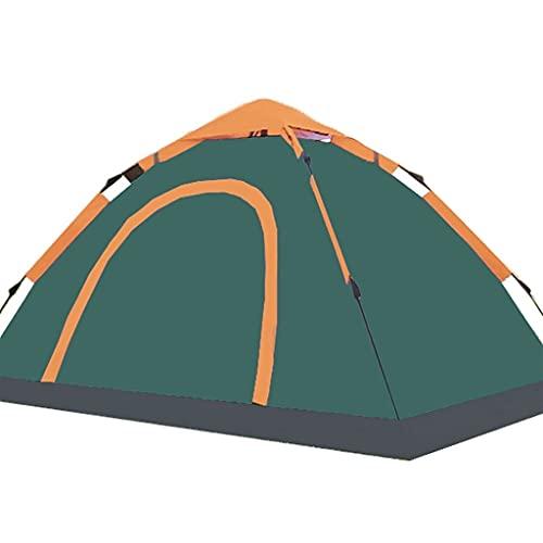 ZHONGTAI Pop Up Tent 2 People Lightweight Automatic Tienda portátil Impermeable Tienda Verde Oscuro para montañismo al Aire Libre