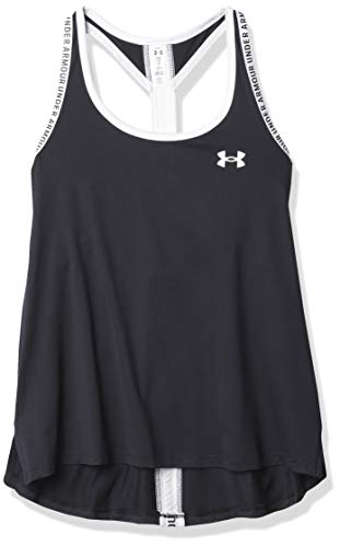Under Armour Camiseta de Tirantes para niña UA Knockout Transpirable, de Secado rápido.