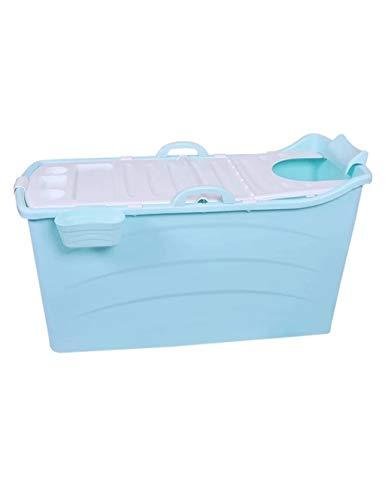 Huoo Haushaltsübergroße Badewanne Fold Up Badewanne mit Deckel