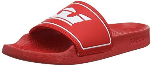 Supra Unisex-Erwachsene Lockup Sneaker, Rot (Risk Red 601), 44 EU