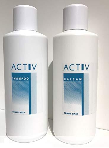 GFH ACTIV Perücken Wig Pflegeset Shampoo 1000 ml + Balsam 1000 ml für Kunsthaarperücken & Haarteile