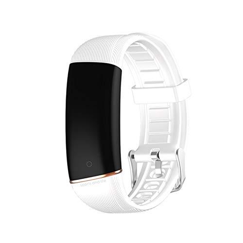 Gulu E98 Pulsera Inteligente Hombres Mujeres Fitness Track Monitor De Ritmo Cardíaco Banda Inteligente Reloj De Presión Arterial IP67 Deporte Smartband Smartwatches,B