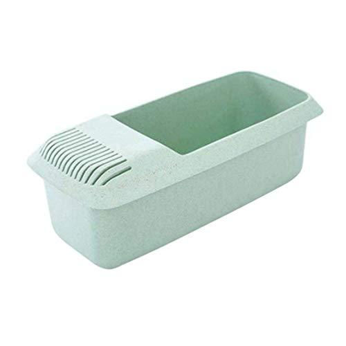 Hemoton Cocedor de pasta para microondas de paja de trigo nuodle hacer cajas para escurreplatos recipiente para cocina, casa, oficina, horno microondas color aleatorio