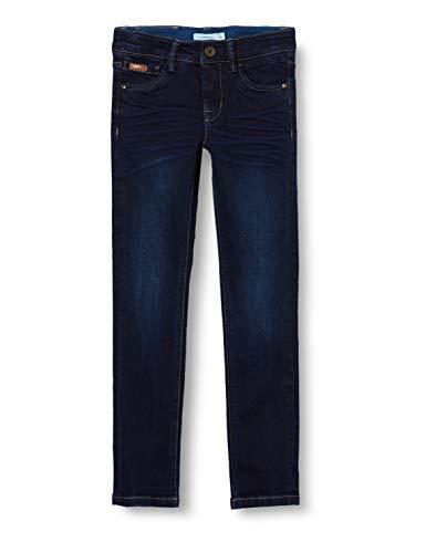 NAME IT Jungen NKMTHEO DNMTBLUES 3385 Pant NOOS Jeans, Dark Blue Denim, 122