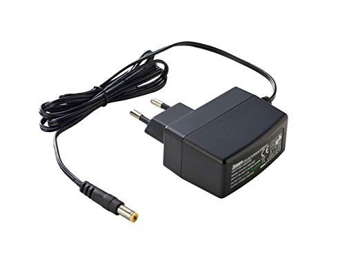 Premium Cord Fuente de alimentación Universal 230 V/24 V/0,5 A CC, Adaptador de Corriente CA/CC, Cable de alimentación para Router y Otros Dispositivos de 24 V, Conector de Salida 5,5 mm/2,1 mm