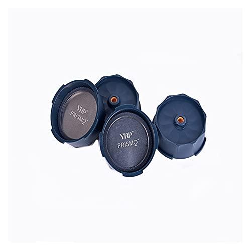 ZHANGZHI Prismo Aero Prasa Akcesoria Francuski Naciśnij ES lub Przenośny ekspres do kawy Anti-Drip Caps w stali nierdzewnej Yuro Press/Aero Press (Colore : Gray)