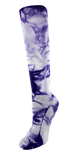 Sof Sole Girls' Child 13-Youth 4, Neon Purple Tie Dye, Child 13-Youth 4