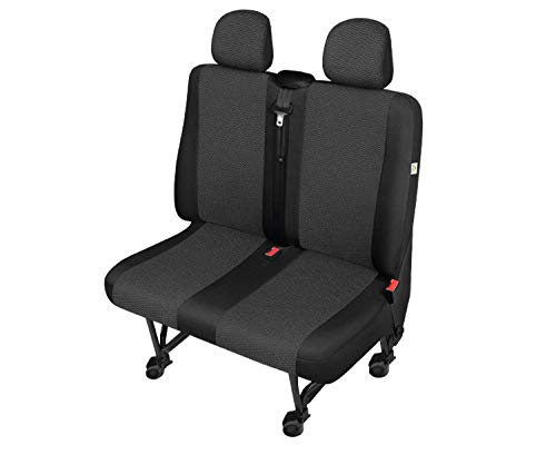 CITROEN Berlingo 2008-2018 Tailored Fundas impermeables Delantero Par Negro