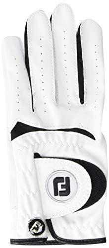 FootJoy Junior Golf Glove, White Medium/Large, Worn on Left Hand