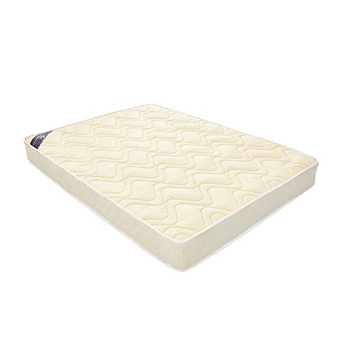 Panana Orthopaedic Quilted Memory Foam Sprung Matress (4ft6 Double: 135cm x 190cm x 20cm)