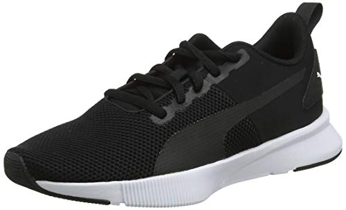 PUMA Flyer Runner JR, Zapatillas Unisex niños, Negro Black White, 39 EU