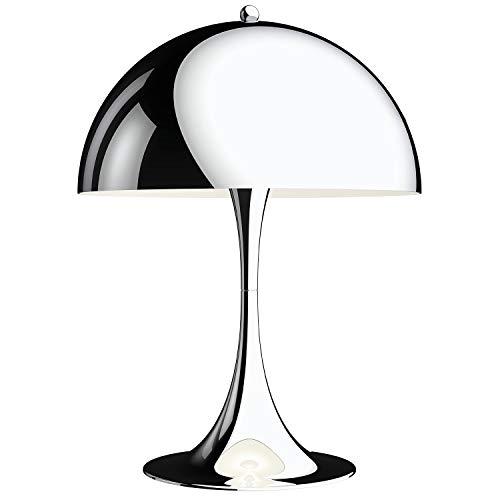 Panthella 320 Table Lamp, Louis Poulsen, Lámpara de Sobremesa Diseñada por Verner Panton (Cromado Muy Brillante)