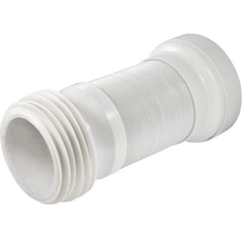 Flexibler WC-Abfluss für Standardrohr (10,2 cm), hergestellt in Italien