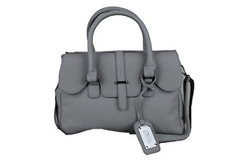 Buffalo Damen Handtasche Tasche Umhängetasche grau