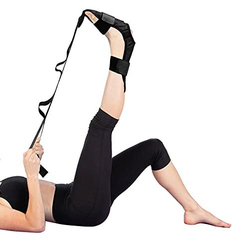 Herefun Yoga Stretching Strap, Yoga Ligament Stretch Gurt, Dehnungsband Gymnastik Gurt mit Schlaufen, Yoga Gürtel für Bein Training, Fitness, Tanz, Gymnastik