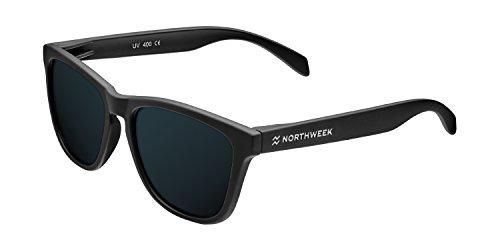 Northweek Regular Duke - Gafas de Sol para Hombre y Mujer, Polarizadas, Negro
