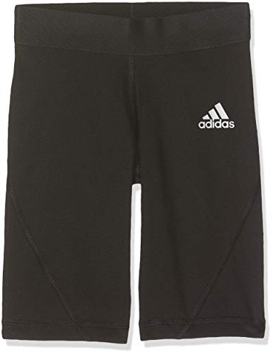 adidas Jungen Ask SHO Tight Y, Black, 7-8Y