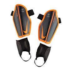 Nike Kinder Protegga Flex Schienbeinschoner, Black/Total Orange, M