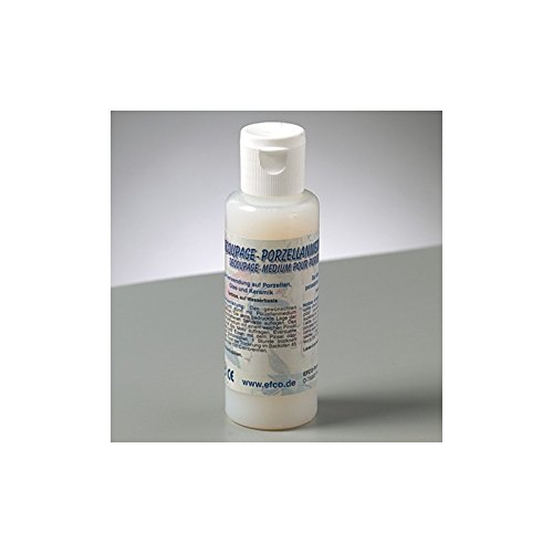 Efco Colle Vernis médium pour Porcelaine, 50 ML