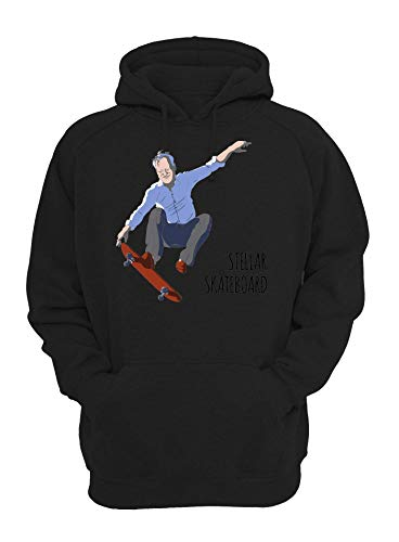 Shut Up Stellar Skateboard Unisex Kapuzenpullover Medium