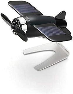 Air Freshener Car Perfume Car Styling Airplane Decoration Non-Slip Mat Solar Energy Rotate Aircraft Dashboard Solid Car De...