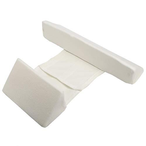 SALUTUYA Oreiller de positionneur de Sommeil Infantile réglable en Hauteur pour bébé pour Le Sommeil de bébé(Triangle Pillow White)