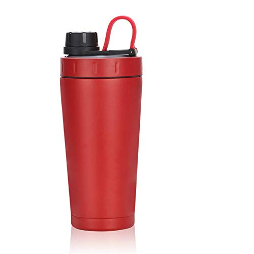 HUANGDANSEN Protein Shaker Protein Shaker Thermos Cup Stainless Steel Water Bottle Outdoor Gym Training Drink Powder Milk Mixer Travel Portable