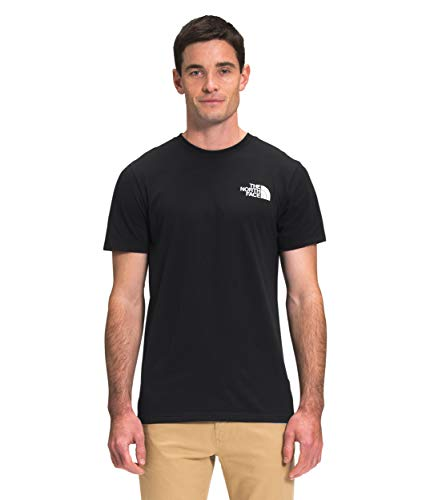 The North Face Men's S/S Box NSE Tee, TNF Black, Large
