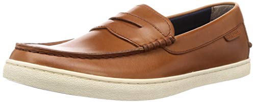 Cole Haan Men's Nantucket Loafer British Tan Handstain, 9 M US