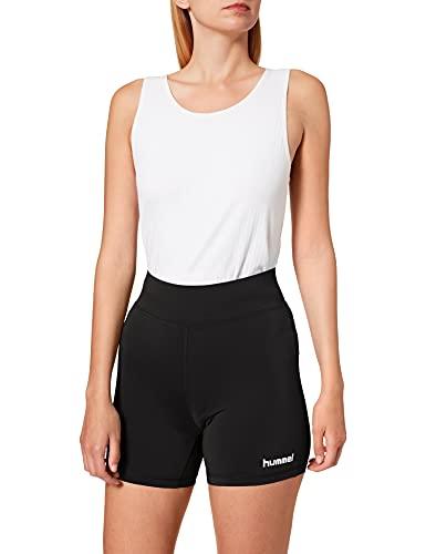 hummel Damen CORE Hipster Woman Shorts, Schwarz, M