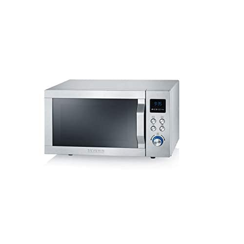 31+LbO3mc4L. SS500  - SEVERIN MW 7754 Microwave, Grill, Ultra-hot-air Function, Oven, stainless steel, 900 W, 25 liters