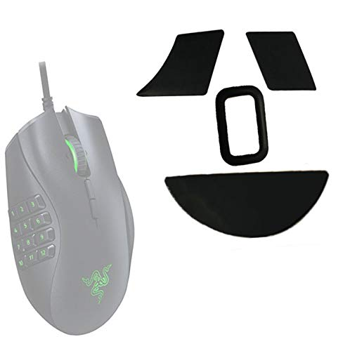 Replacement Naga Gaming Mice Mouse feet Pads Skates Compatible with Razer Naga Trinity - Chroma Mouse