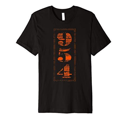 Grunge Broward County 954 Area Code T Shirt -  Retro 954 Area Code Tshirt