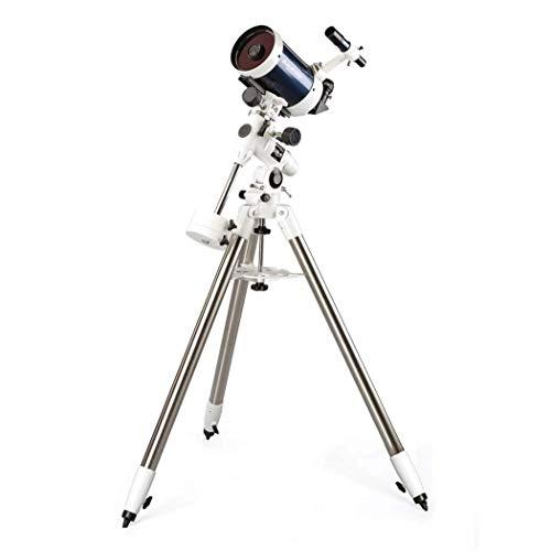 Drohneks Telescopio per Principianti di Astronomia per Adulti Professionisti, Telescopio rifrattore per Astronomia, Specchio mirino: 6 X30, Stella Limite: 13,1, Lunghezza focale 1250 M con treppiede