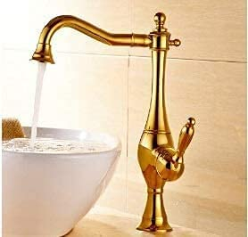 LBMTFFFFFF Single Lever Limited Special Price Basin Faucet Hot and Gold Quality inspection Cold Tap Water