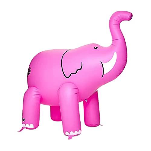 Furado Aufblasbare Elefant Hinterhof Sprinkler Spielzeug,Aufblasbare Elefant Pool Float,Spielzeug Aufblasbare,Sprühwasser Pool Spielzeug Für Kind,Partyzubehör Aufblasbarer,Beachparty,Mottoparty