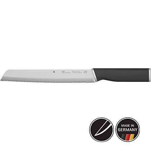 WMF Kineo Brotmesser Wellenschliff 33 cm, Brötchenmesser, Spezialklingenstahl, Sägemesser, Messer scharf, geschmiedet, Performance Cut, Klinge 12 cm