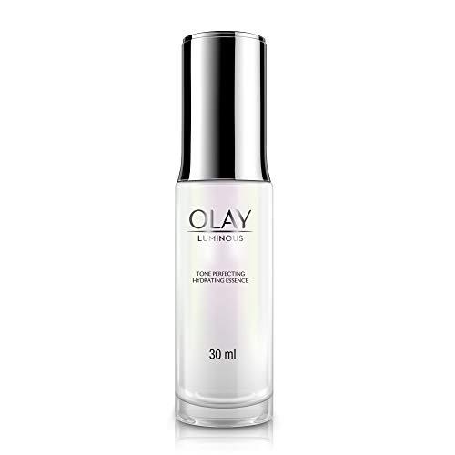 Olay Luminous Serum: Tone Perfecting Hydrating Essence For Glowing Skin With Vitamin B3, 30ml