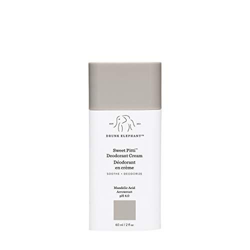 Drunk Elephant Sweet Pitti Deodorant Cream. Soothing and Moisturizing Underarm Deodorizing Cream. (2 fluid ounces)