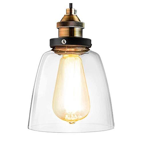 Lightess Lámpara Colgante de Techo Vendimia LED Industrial